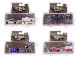 Hitch & Tow Series 19 Set of 4 pieces 1/64 Diecast Model Cars Greenlight 32190