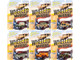 Wheeled Warriors Military Release 2 Dirty Version Set B of 6 pieces Limited Edition 2004 pieces Worldwide 1/64 Diecast Model Cars Johnny Lightning JLML005 B
