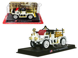 1907 Seagrave AC53 Fire Engine Truck Los Angeles Fire Department LAFD 1/43 Diecast Model Amercom ACSF14