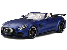 Mercedes AMG GT R Roadster Matt Dark Blue Metallic 1/18 Model Car GT Spirit GT259