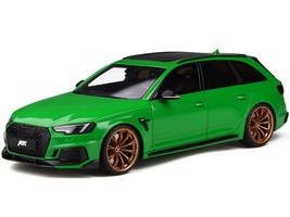 Audi ABT RS4+ Viper Green Copper Wheels 1/18 Model Car GT Spirit GT798