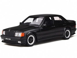 Mercedes Benz 190E 2.3 AMG Black Limited Edition 2000 pieces Worldwide 1/18 Model Car Otto Mobile OT754