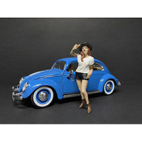 Partygoers Figurine I for 1/24 Scale Models American Diorama 38321