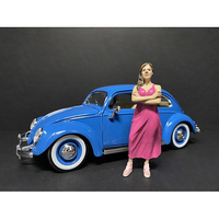Partygoers Figurine II for 1/24 Scale Models American Diorama 38322