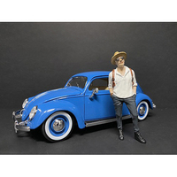 Partygoers Figurine III for 1/24 Scale Models American Diorama 38323