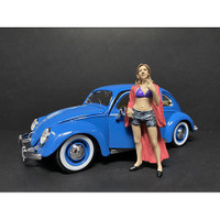 Partygoers Figurine VIII for 1/24 Scale Models American Diorama 38328