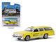 1988 Ford LTD Crown Victoria Wagon Taxicab Yellow Cab of Coronado California Hobby Exclusive 1/64 Diecast Model Car Greenlight 30122
