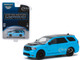 2018 Dodge Durango SRT Blue Pearl Coat Black Limited Edition MOPAR '18 Hobby Exclusive 1/64 Diecast Model Car Greenlight 30130