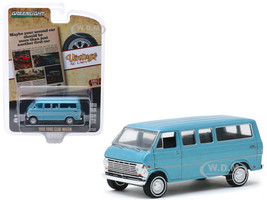 1968 Ford Club Wagon Light Blue Maybe Your Second Car Should Be More Than Just Another First Car Vintage Ad Cars Series 2 1/64 Diecast Model Car Greenlight 39030 C