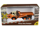 Heavy Duty Dumper Truck Orange TraxSide Collection 1/87 HO Scale Diecast Model Classic Metal Works TC101 A