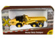 Heavy Duty Dumper Truck Yellow TraxSide Collection 1/87 HO Scale Diecast Model Classic Metal Works TC101 B