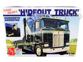 Skill 3 Model Kit Tyrone Malone's Kenworth Aerodyne Hideout Truck 1/25 Scale Model AMT AMT1158