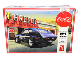 Skill 3 Model Kit 1977 Ford Pinto Popper Vending Machine Coca Cola 2 in 1 Kit 1/25 Scale Model AMT AMT1166 M
