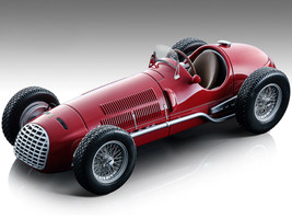 1950 Ferrari 125 F1 Press Version Red Mythos Series Limited Edition 70 pieces Worldwide 1/18 Model Car Tecnomodel TM18-149 A