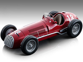 Ferrari 125 F1 #18 Alberto Ascari Formula One F1 Swiss Grand Prix 1950 Mythos Series Limited Edition 125 pieces Worldwide 1/18 Model Car Tecnomodel TM18-149 B