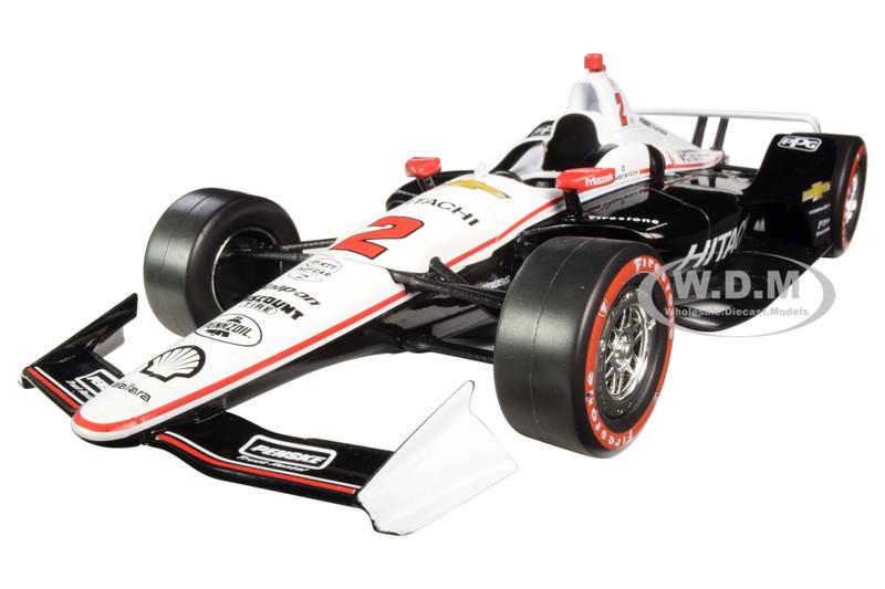 Dallara Indy Car #2 Josef Newgarden Hitachi Team Penske NTT IndyCar Series Champion 2019 1/18 Diecast Model Car Greenlight 11074