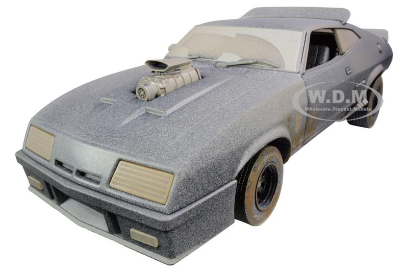 1973 Ford Falcon XB RHD Right Hand Drive Weathered Version Last of the V8 Interceptors 1979 Movie 1/18 Diecast Model Car Greenlight 13559