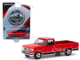 1992 Ford F-150 Pickup Truck Red 75th Anniversary of Ford Trucks Anniversary Collection Series 10 1/64 Diecast Model Car Greenlight 28020 D