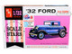 Skill 2 Model Kit 1932 Ford V-8 Coupe Scale Stars 1/32 Scale Model AMT AMT1181