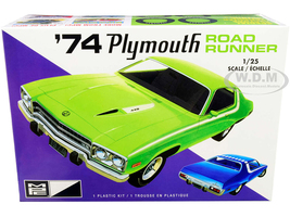 Skill 2 Model Kit 1974 Plymouth Road Runner 1/25 Scale Model MPC MPC920 M