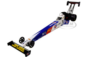 2019 NHRA Funny Car TFD Top Fuel Dragster Brittany Force Carquest Brakes John Force Racing 1/24 Diecast Model Car Autoworld CP7654