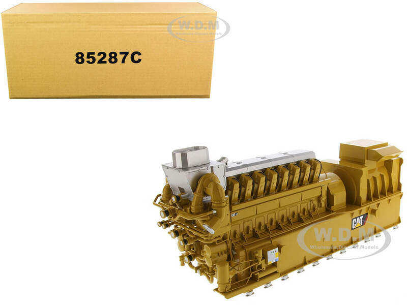 CAT Caterpillar CG260-16 Gas Engine Generator Core Classic Series 1/25 Diecast Model Diecast Masters 85287 C