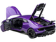 Lamborghini Huracan Performante Viola Pasifae Pearl Purple Black Wheels 1/12 Model Car Autoart 12078