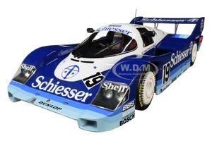 Porsche 956K #19 Stefan Belloff Thierry Boutsen Schiesser Team Brun 1000 km Hockenheim 1985 Limited Edition 1004 pieces Worldwide 1/18 Diecast Model Car Minichamps 155856619