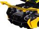 McLaren P1 GTR #51 Yellow Green Stripes Geneva International Motor Show 2015 Geneva Switzerland 1/18 Diecast Model Car Almost Real 840102