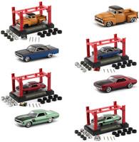 Model Kit 4 piece Car Set Release 29 Foose 1/64 Diecast Model Cars M2 Machines 37000-29