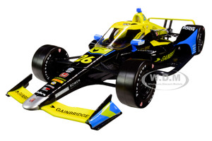 Dallara Indy Car #26 Zach Veach Gainbridge Andretti Autosport NTT IndyCar Series 2020 1/18 Diecast Model Car Greenlight 11076