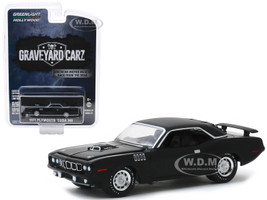 1971 Plymouth Barracuda 340 Black Graveyard Carz 2012 TV Series Season 2 Phantasm 'Cuda Hollywood Series Release 27 1/64 Diecast Model Car Greenlight 44870 F