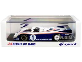 Porsche 956 #1 Jacky Ickx Derek Bell Winner 24H Le Mans 1982 1/43 Model Car Spark 43LM82