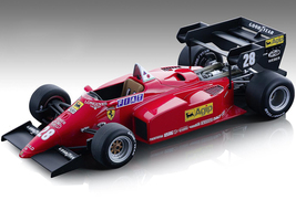 Ferrari 126 C4-M2 #28 Rene Arnoux Agip Formula One F1 European GP 1984 Mythos Series Limited Edition 200 pieces Worldwide 1/18 Model Car Tecnomodel TM18-122 A