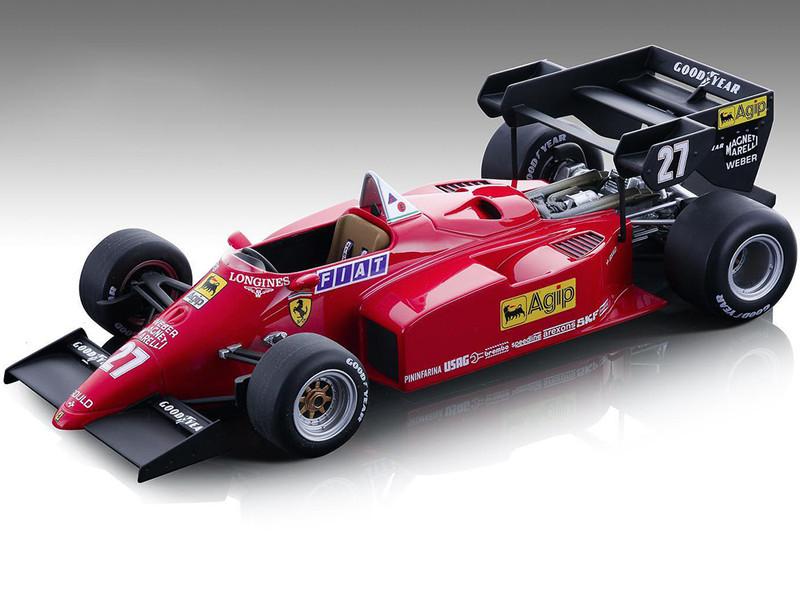 Ferrari 126 C4-M2 #27 Michele Alboreto Agip Formula One F1 European GP 1984 Mythos Series Limited Edition 270 pieces Worldwide 1/18 Model Car Tecnomodel TM18-122 B