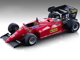Ferrari 126 C4-M2 #27 Michele Alboreto Agip Formula One F1 European GP 1984 Mythos Series Limited Edition 270 pieces Worldwide 1/18 Model Car Tecnomodel TM18-122 B