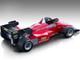 1984 Ferrari 126 C4-M2 Agip Press Version Mythos Series Limited Edition 80 pieces Worldwide 1/18 Model Car Tecnomodel TM18-122 C