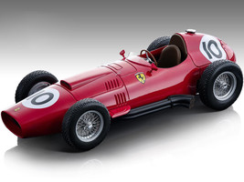 Ferrari 801 F1 #10 Mike Hawthorn Formula One England GP 1957 Mythos Series Limited Edition 160 pieces Worldwide 1/18 Model Car Tecnomodel TM18-151 B