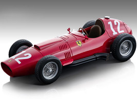 Ferrari 801 F1 #12 Peter Collins Formula One France GP 1957 Mythos Series Limited Edition 110 pieces Worldwide 1/18 Model Car Tecnomodel TM18-151 D