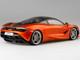 McLaren 720S Azores Orange Metallic Black Top 1/12 Model Car True Scale Miniatures 120002