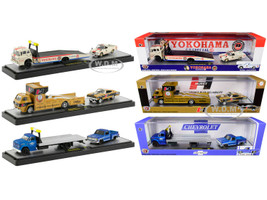 Auto Haulers Release 37 Set of 3 Trucks Limited Edition 6000 pieces Worldwide 1/64 Diecast Models M2 Machines 36000-37