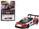 McLaren Senna Orange White Limited Edition 2400 pieces Worldwide 1/64 Diecast Model Car True Scale Miniatures MGT00081