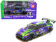 Nissan EVA RT Test Type-01 X Works GT-R #33 Super GT300 Series 2019 Poprace 1/64 Diecast Model Car True Scale Miniatures MGT00090