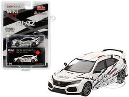 FK8 Championnat Blanc Avec Carbone /& Kit TE37 Wheel Honda Civic Type R 1:64