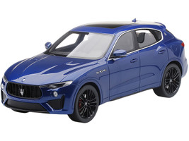 Maserati Levante Blue Emozione Metallic 1/18 Model Car Top Speed TS0240