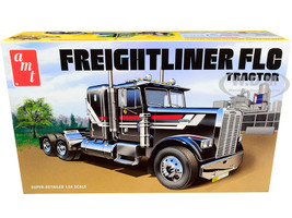 Skill 3 Model Kit Freightliner FLC Truck Tractor 1/24 Scale Model AMT AMT1195