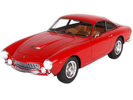 1963 Ferrari 250 Lusso Red DISPLAY CASE Limited Edition 200 pieces Worldwide 1/18 Model Car BBR BBR1843