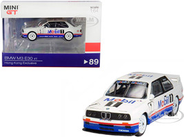 BMW M3 E30 #1 Emanuele Pirro Mobile Schnitzer Motorsport Team Winner Guia Race of Macau 1992 Hong Kong Exclusive 1/64 Diecast Model Car True Scale Miniatures MGT00089