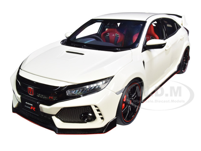 Honda Civic Type R FK8 Championship White 1/18 Model Car Autoart 73266