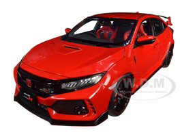 Honda Civic Type R FK8 Flame Red 1/18 Model Car Autoart 73268